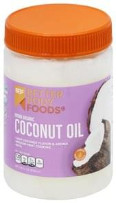 Better Body Foods Coconut Oil Organic, Virgin