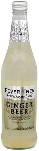 Fever Tree Refreshingly Light Ginger Beer - 16.9 oz