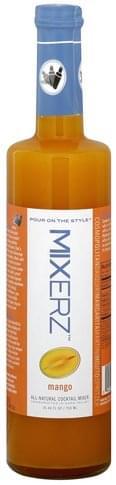 Mixerz Mango All-Natural Cocktail Mixer - 25.36 oz