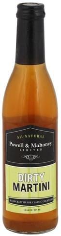 Powell & Mahoney Dirty Martini - 12.68 oz