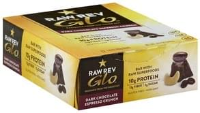 Raw Revolution Bar with Raw Superfoods, Dark Chocolate Espresso Crunch