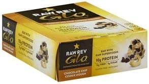 Raw Revolution Bar with Raw Superfoods, Chocolate Chip Cookie Dough