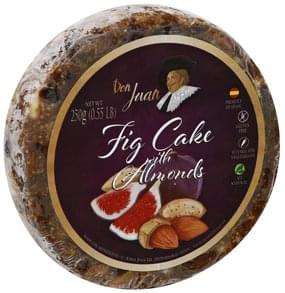 Don Juan Fig Cake with Almonds