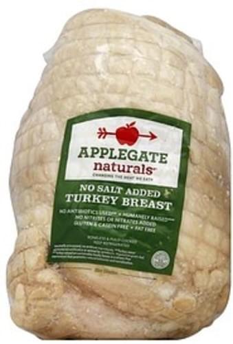 Applegate No Salt Added Turkey Breast - 1 ea
