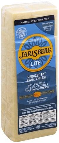 Jarlsberg Reduced Fat, Swiss Cheese - 1 ea