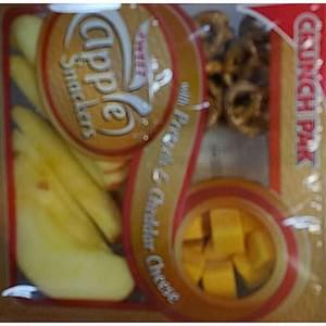 Crunch Pak Apple Snackers with Pretzels & Cheddar Cheese