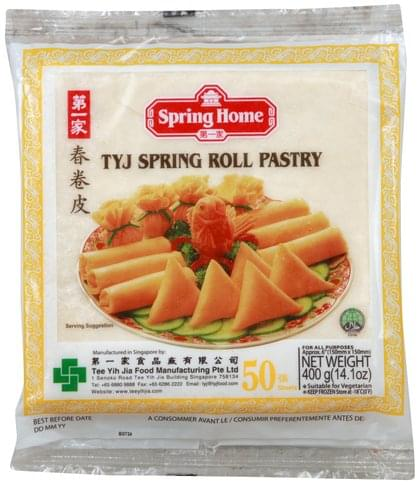 Spring Home TYJ Spring Roll Pastry - 50 ea