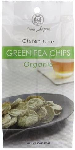 Muso Green Pea Chips - 1.59 oz