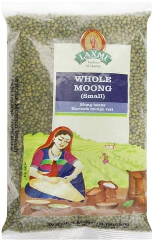 Laxmi Whole, Small Moong - 32 oz