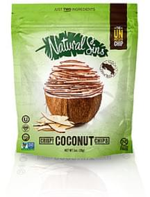 Natural Sins Crispy Coconut Chips Dried Coconut