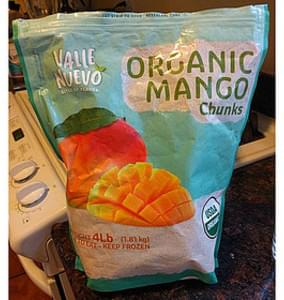 Valle Nuevo Organic Mango Chunks