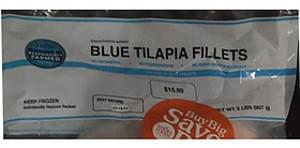 Unknown Blue Tilapia Fillets