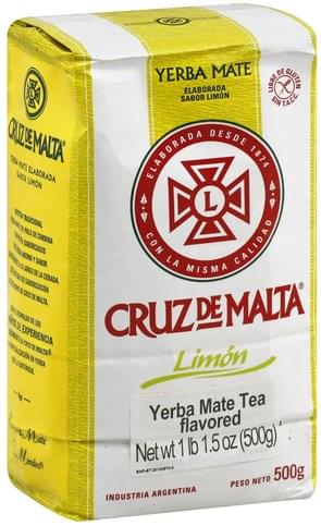 Cruz De Malta Limon Yerba Mate Tea - 17.5 oz