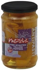 Mezzini Yellow Peppers Fire Roasted