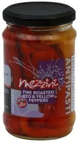 Mezzini Red & Yellow Peppers Fire Roasted
