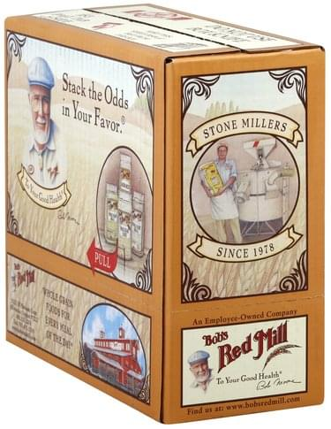 Bobs Red Mill Light, Whole Grain, Cracked Wheat Bulgur - 4 ea