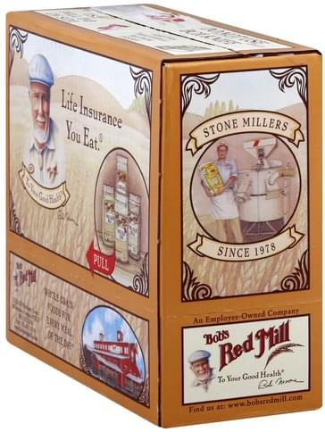 Bobs Red Mill Whole Grain, Old Fashioned Rolled Oats - 4 ea