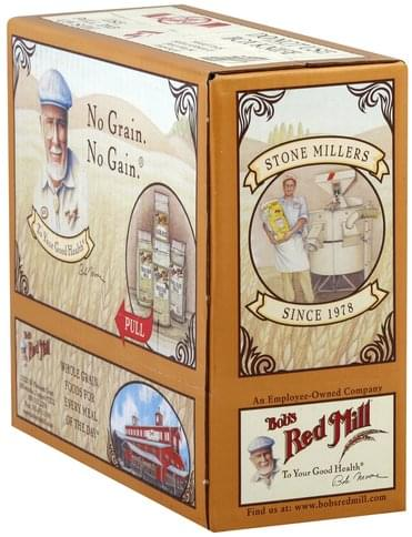 Bobs Red Mill Whole Grain, Cracked Wheat, Organic Hot Cereal - 4 ea
